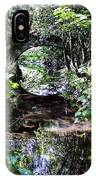 Bridge Reflection At Blarney Caste Ireland IPhone Case
