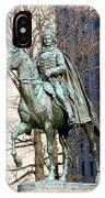 Brigadier General Casimir Pulaski Saved George Washington's Life IPhone Case