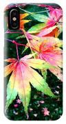 Bright Autumn Leaves Tatton Park IPhone Case
