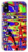 Bright Color Mix Abstract IPhone Case