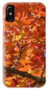 Bright Colorful Autumn Tree Leaves Art Prints Baslee Troutman IPhone Case