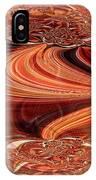 Bright Fantasies Of Delightful Orange IPhone Case