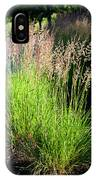 Bright Green Grass By The Pond IPhone Case