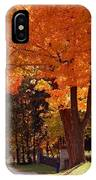 Bright Maple Morning IPhone Case