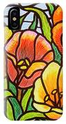 Bright Tulips IPhone Case