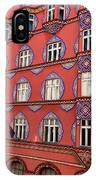 Brightly Colored Cooperative Business Bank Building Or Vurnik Ho IPhone Case