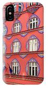 Brightly Colored Facade Of Cooperative Business Bank Building Or IPhone Case