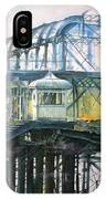 Brighton's West Pier-lone Survivor IPhone Case