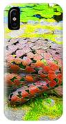 Brigit's Garden Statue IPhone Case