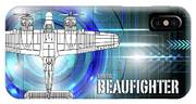 Bristol Beaufighter Blueprint IPhone Case