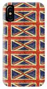 British Flag Collage One IPhone Case