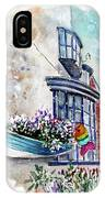 Broadies By The Sea In Staithes IPhone Case