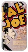 Broadway: Pal Joey, 1940 IPhone Case