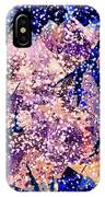 Broken Glass And A Snowstorm IPhone Case