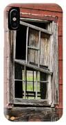 Broken Window Frame IPhone Case