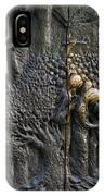 Bronze Sculptured Church Door - Slovenia IPhone Case