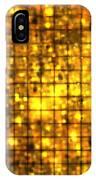 Bronze Solar Cubes IPhone Case