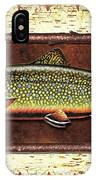 Brook Trout Lodge IPhone Case