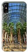 Brookfield Place Atrium - N Y C # 2 IPhone Case