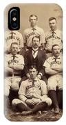 Brooklyn Bridegrooms Baseball Team IPhone Case