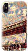 Brooklyn Bridge Watercolor IPhone Case