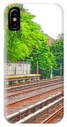 Brooklyn Subway Train Station 1 IPhone Case