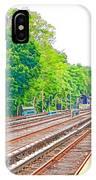Brooklyn Subway Train Station 2 IPhone Case
