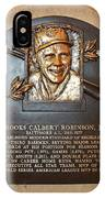 Brooks Robinson Hall Of Fame Plaque IPhone Case