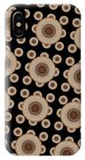 Brown And Black Mandala Pattren IPhone Case