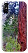 Brown Bark IPhone Case