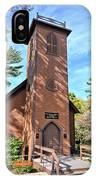 Brown Church Autumn 2 IPhone Case