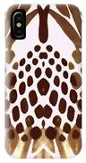 Brown Pineapple IPhone Case
