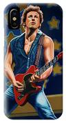 Bruce Springsteen The Boss Painting IPhone Case