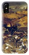 Bruegel: Triumph Of Death IPhone Case