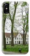 Bruges Begijnhof 1 IPhone Case