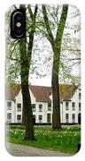 Bruges Begijnhof 2 IPhone Case