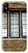 Bruges Window 3 IPhone Case
