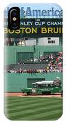 Bruins At Fenway IPhone Case