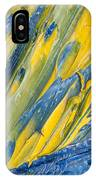 Brush Stroke Detail 8066 IPhone Case