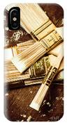 Brushes Of Interior Decoration IPhone Case