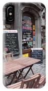 Brussels - Restaurant Chez Patrick IPhone Case