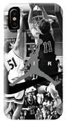 Bryan Nelson Goes Michael Air Jordan, A Shawnee Mission East High School Legend IPhone Case