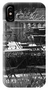 Bryant Park In Black And White IPhone Case