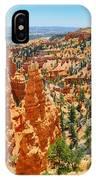 Bryce Canyon Fairyland Vista IPhone Case