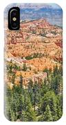 Bryce Canyon Fairyland Vista Point IPhone Case
