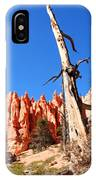 Bryce Canyon Lonely Tree IPhone Case
