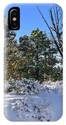 Bryce Canyon Snowfall IPhone Case