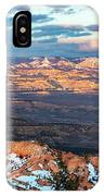 Bryce Canyon Sunset - 2 IPhone Case