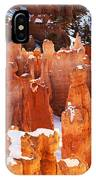 Bryce Canyon Winter 1 IPhone Case