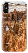 Bryce Canyon Winter Panorama - Bryce Canyon National Park - Utah IPhone Case